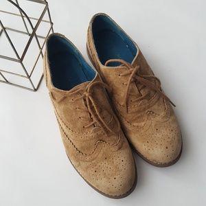 Cynthia Rowley Oxford Suede Hazel Shoes